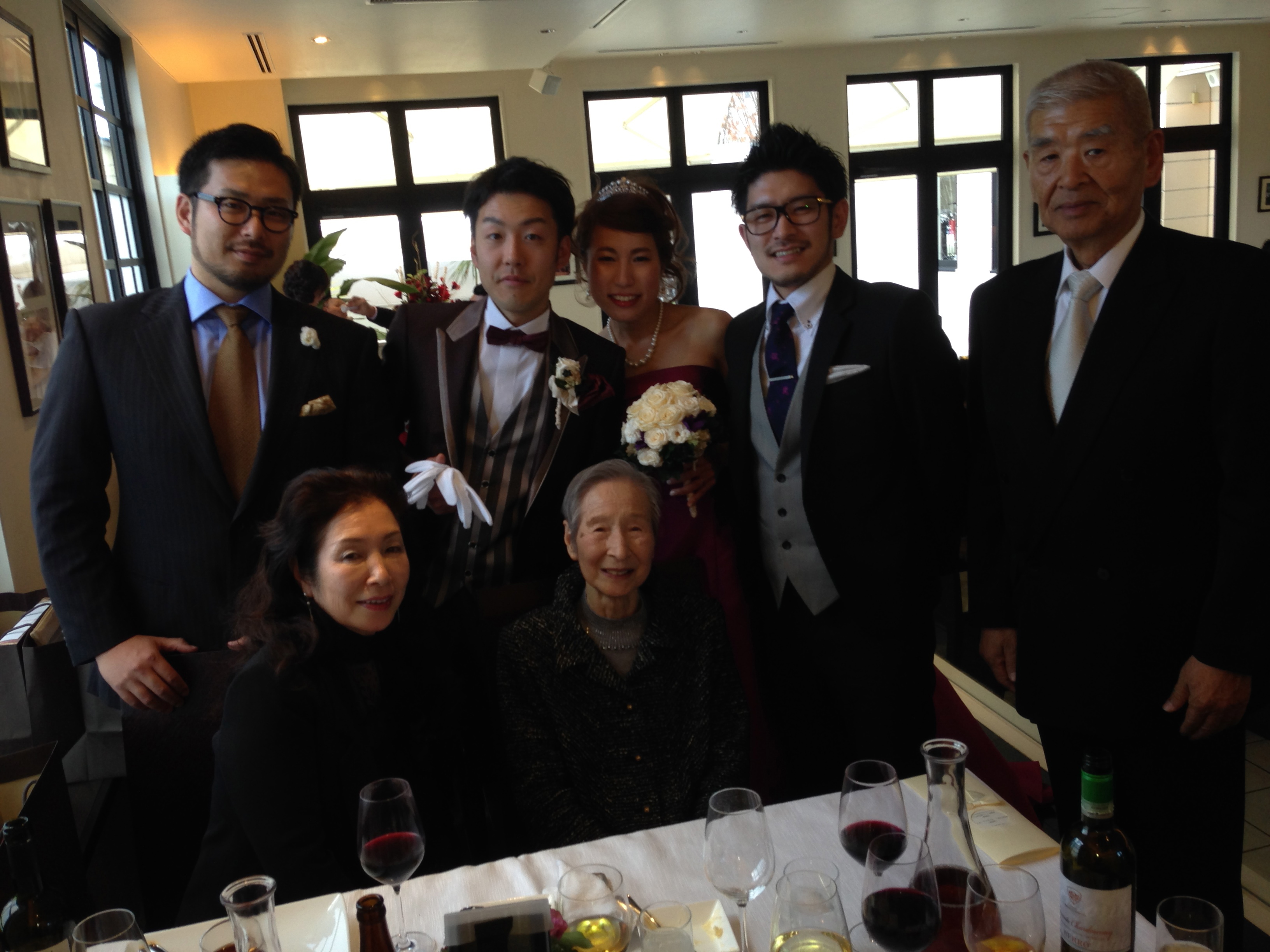 3組の素敵な結婚式に出席^^